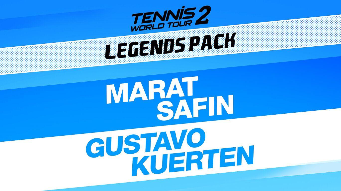 テニス ワールドツアー 2 レジェンズ パック