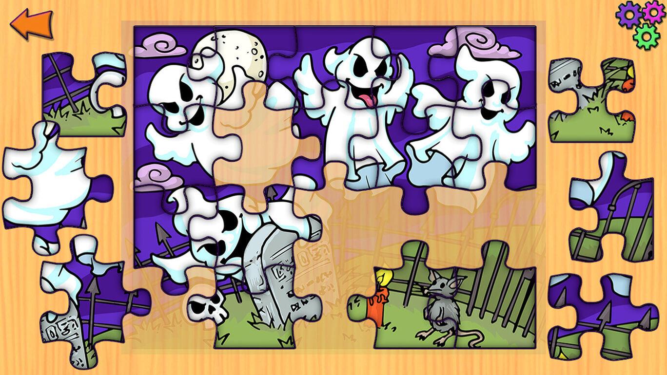 Halloween Jigsaw Puzzles - 子供と幼児のためのハロウィーンのジグソーパズルゲーム