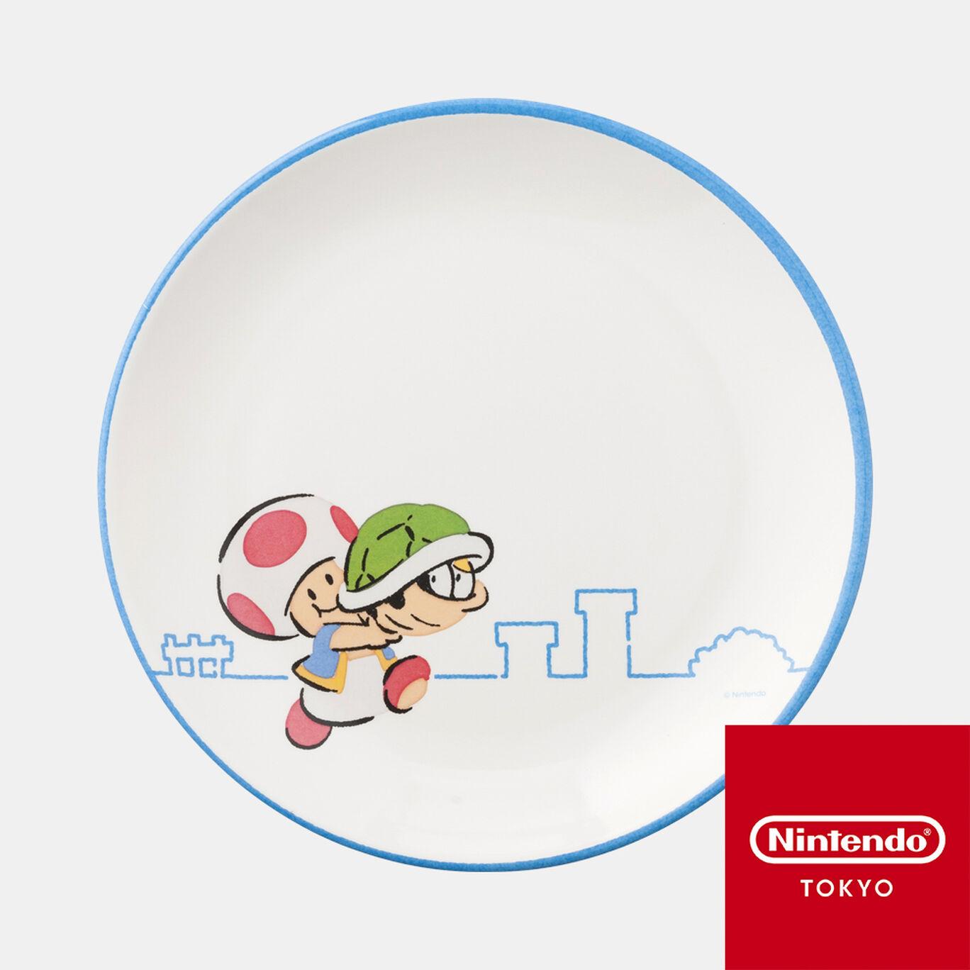 メラミンプレート スーパーマリオファミリーライフ キノピオ【Nintendo TOKYO取り扱い商品】
