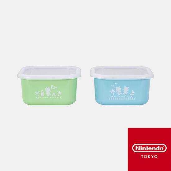 保存容器2個セット あつまれ どうぶつの森【Nintendo TOKYO取り扱い商品】