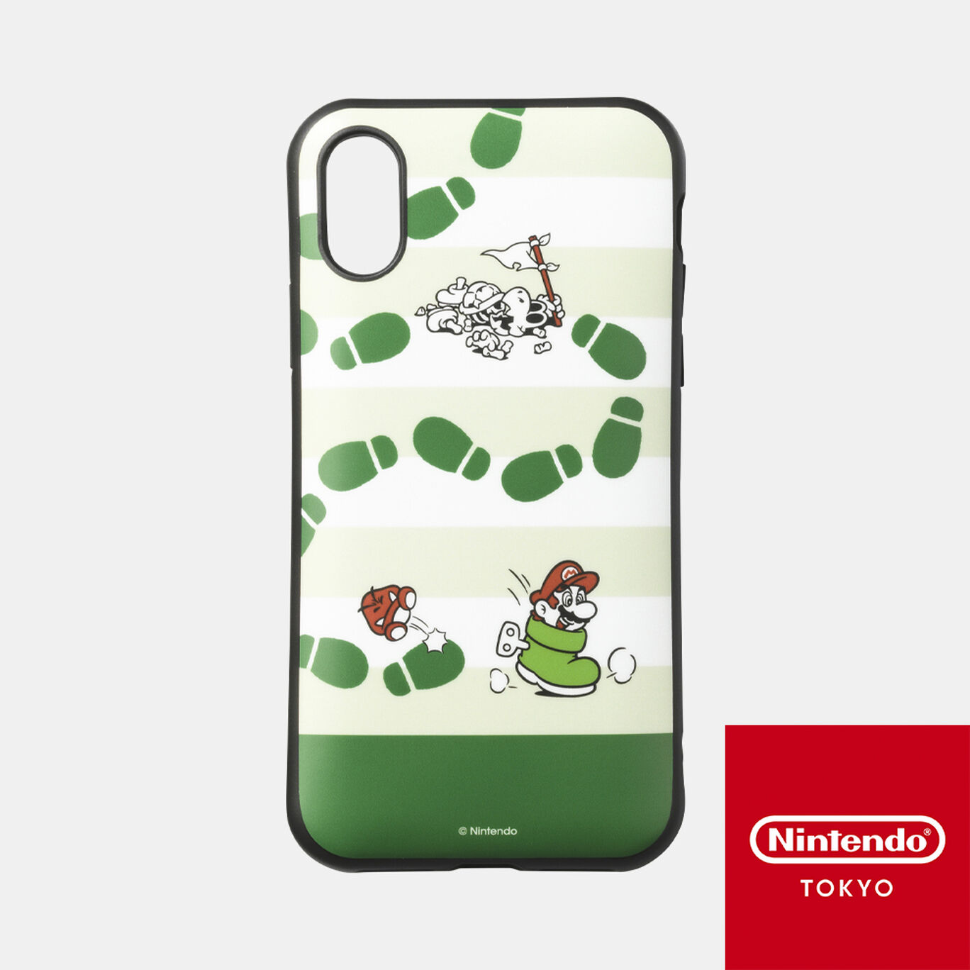 スマホケース スーパーマリオ パワーアップ B iPhone XS/X 対応【Nintendo TOKYO取り扱い商品】