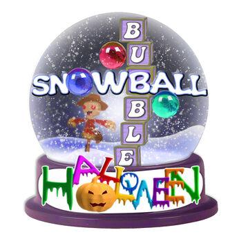 ハロウィンスノーボールバブル