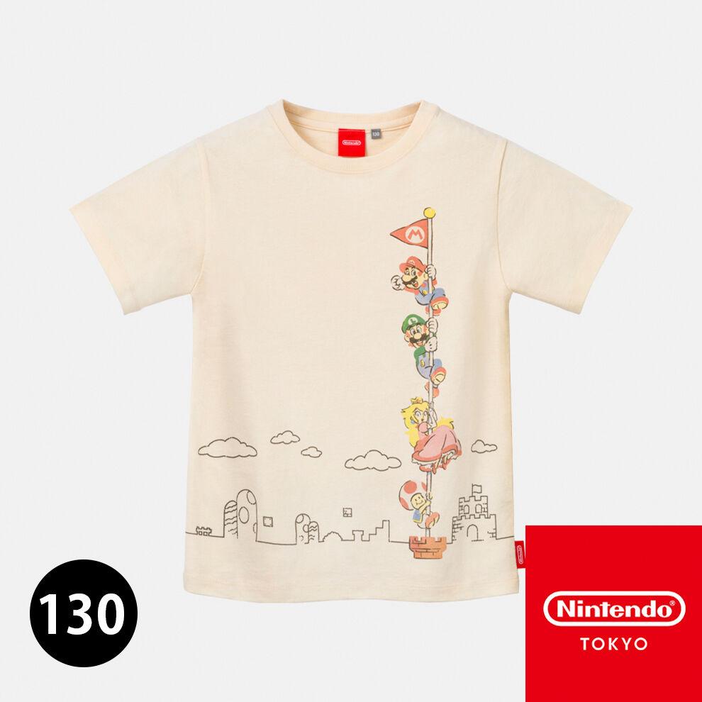 Tシャツ スーパーマリオファミリーライフ A キッズ130【Nintendo TOKYO取り扱い商品】