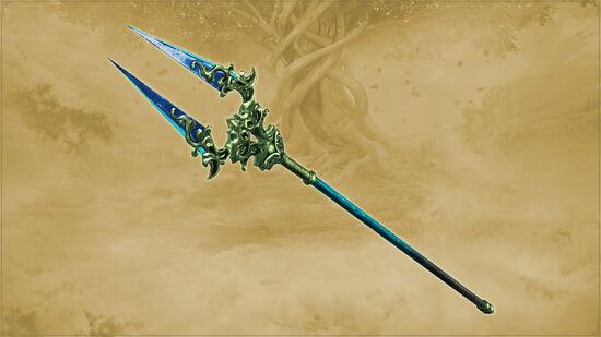 神器「トネリコの二叉槍」