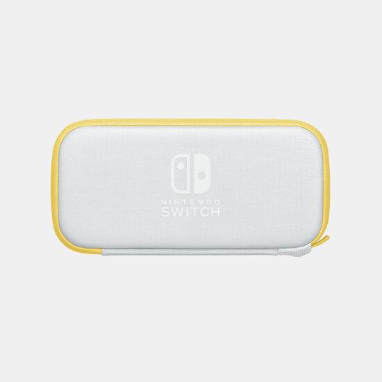 Nintendo Switch Liteキャリングケース イエロー(画面保護シート付き)