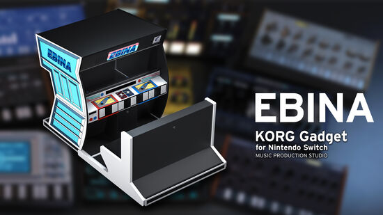 EBINA / KORG gadget for Nintendo Switch 追加音源