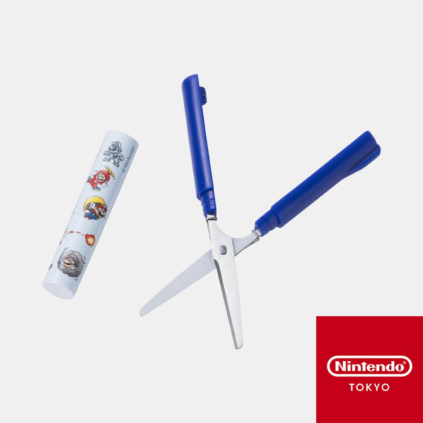 スティッキールはさみ コンパクト スーパーマリオ パワーアップ【Nintendo TOKYO取り扱い商品】