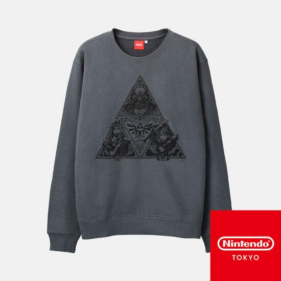 スウェット トライフォース ゼルダの伝説【Nintendo TOKYO取り扱い商品】