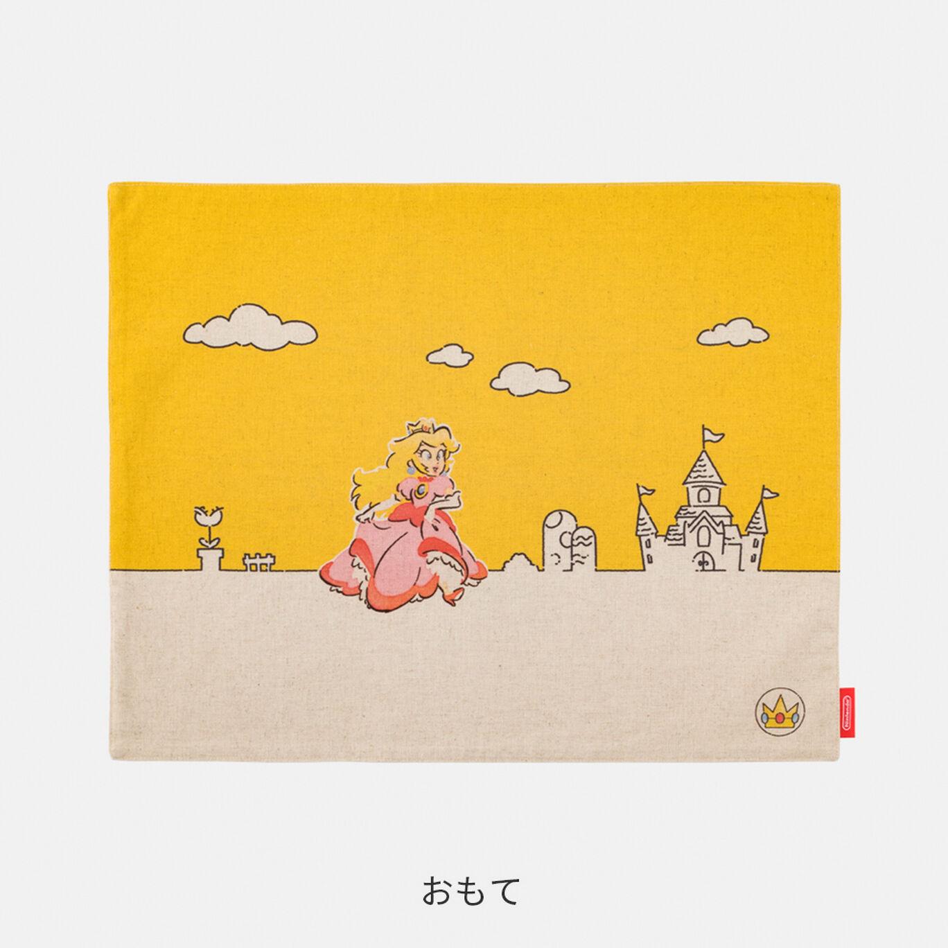 ランチョンマット スーパーマリオファミリーライフ ピーチ【Nintendo TOKYO取り扱い商品】