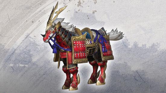追加軍馬「鎧纏」