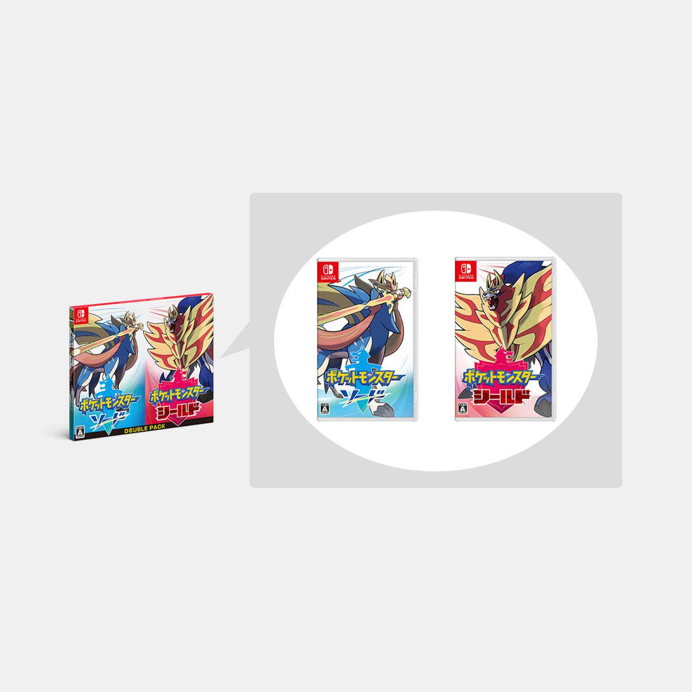 『ポケットモンスター ソード・シールド』ダブルパック【ダブルパック限定特典】ヨーギラスとジャラコとの特別なマックスレイドバトルができるシリアルコード2種