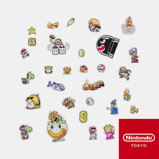 フレークシール スーパーマリオワールド【Nintendo TOKYO取り扱い商品】