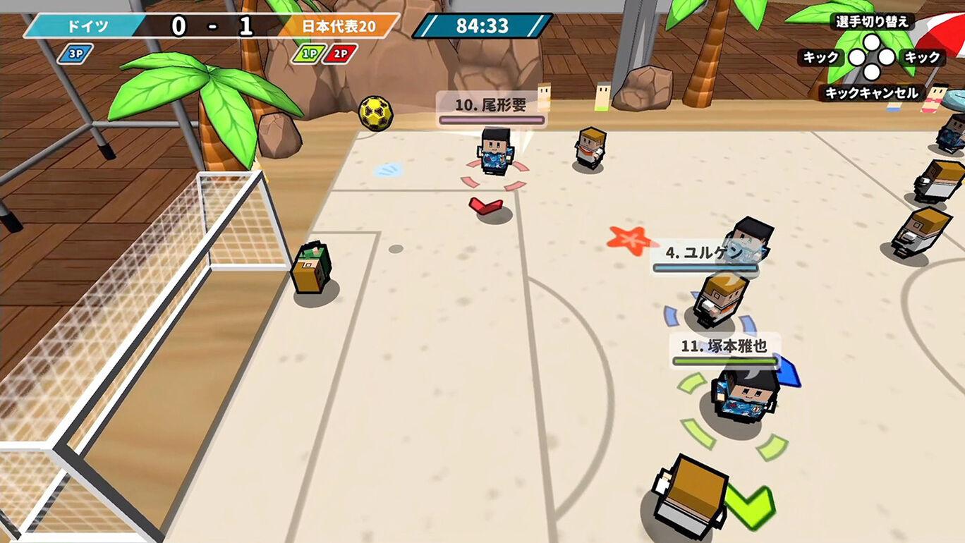 机でサッカー日本代表エディション