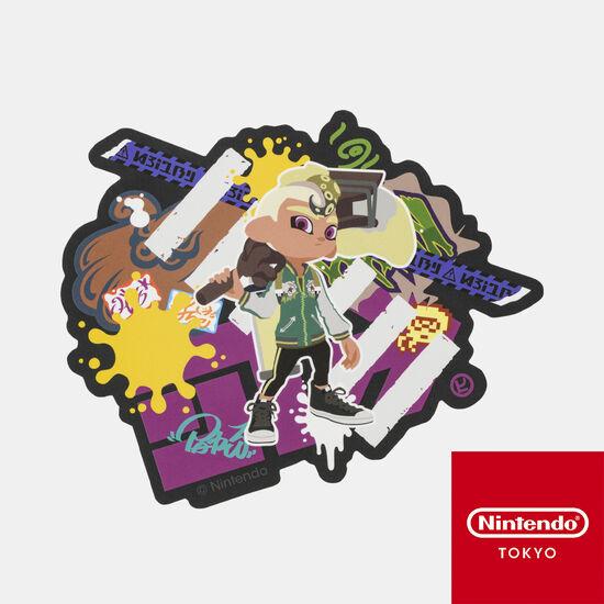 ステッカー CROSSING SPLATOON D【Nintendo TOKYO取り扱い商品】