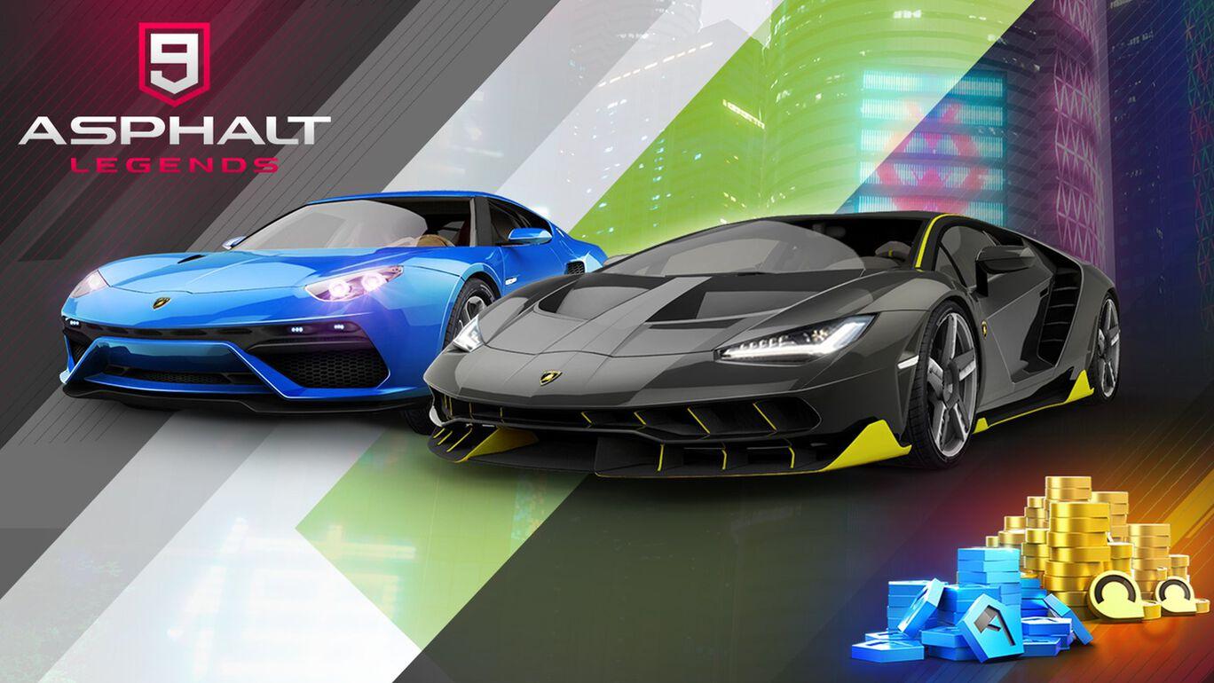 『アスファルト9:Legends』Lamborghiniバンドル