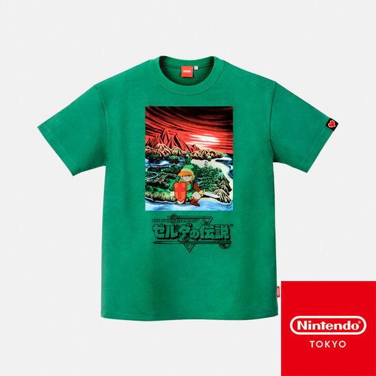Tシャツ ゼルダの伝説 【Nintendo TOKYO取り扱い商品】