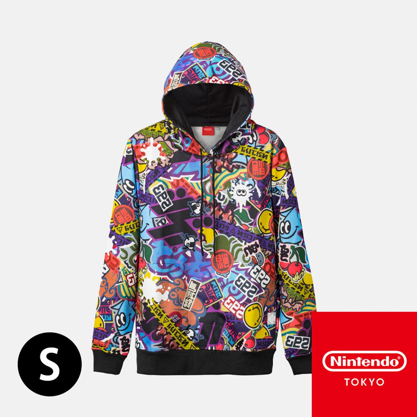 パーカー CROSSING SPLATOON S【Nintendo TOKYO取り扱い商品】