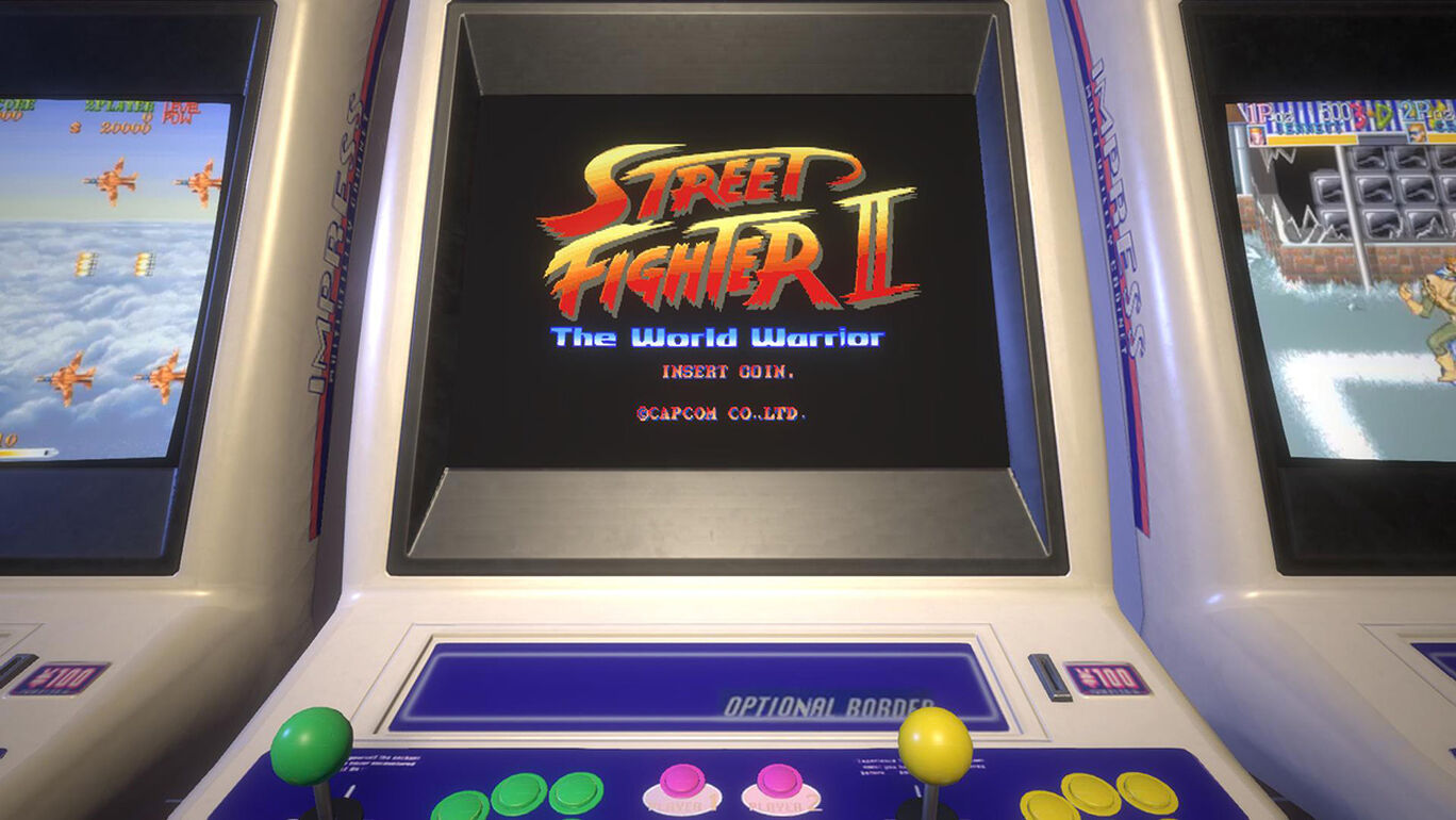 Capcom Arcade Stadium:ストリートファイターII - The World Warrior -