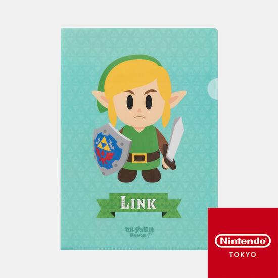 クリアファイル ゼルダの伝説 夢をみる島【Nintendo TOKYO取り扱い商品】