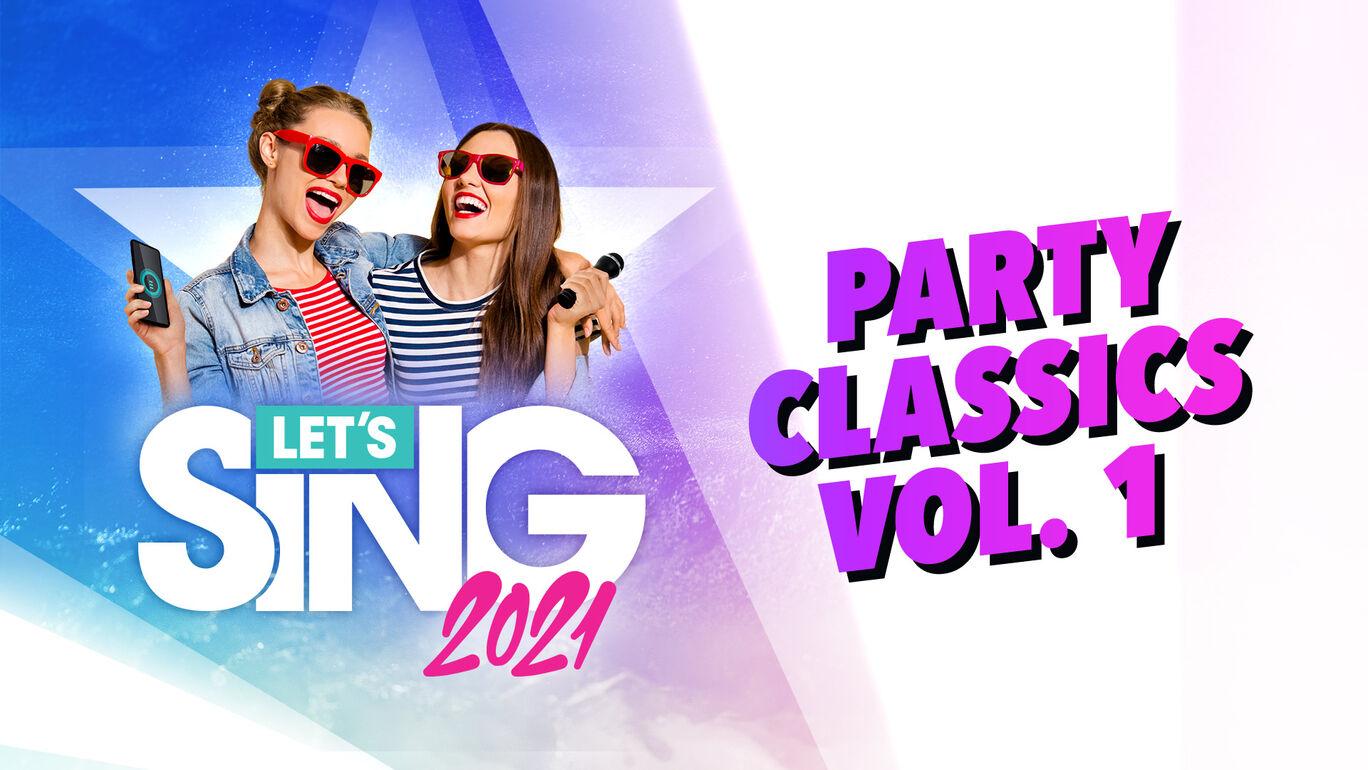 レッツシング2021 - Party Classics Vol. 1 Song Pack