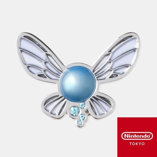 【新商品】ピンズ 妖精 ゼルダの伝説【Nintendo TOKYO取り扱い商品】