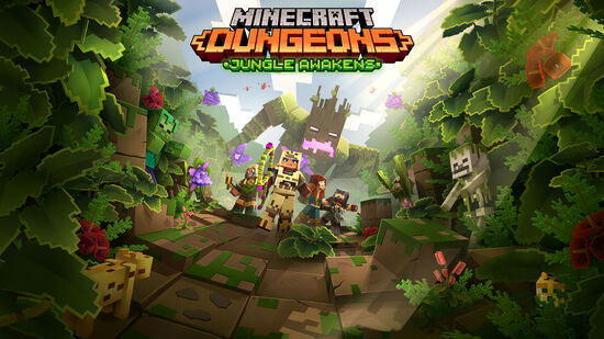 Minecraft Dungeons: Jungle Awakens (ジャングルの目覚め)
