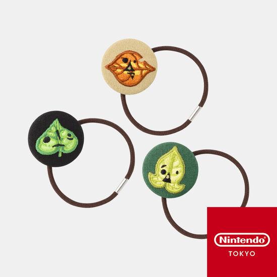 コログのくるみボタンヘアゴムセット ゼルダの伝説【Nintendo TOKYO取り扱い商品】