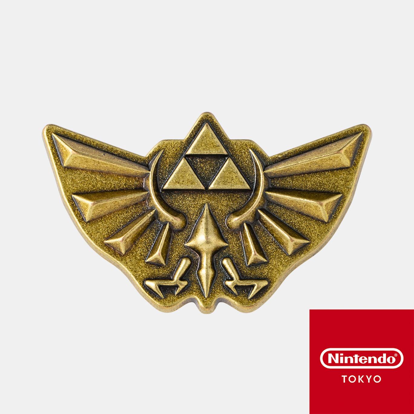 ピンズ ゼルダの伝説 A【Nintendo TOKYO取り扱い商品】