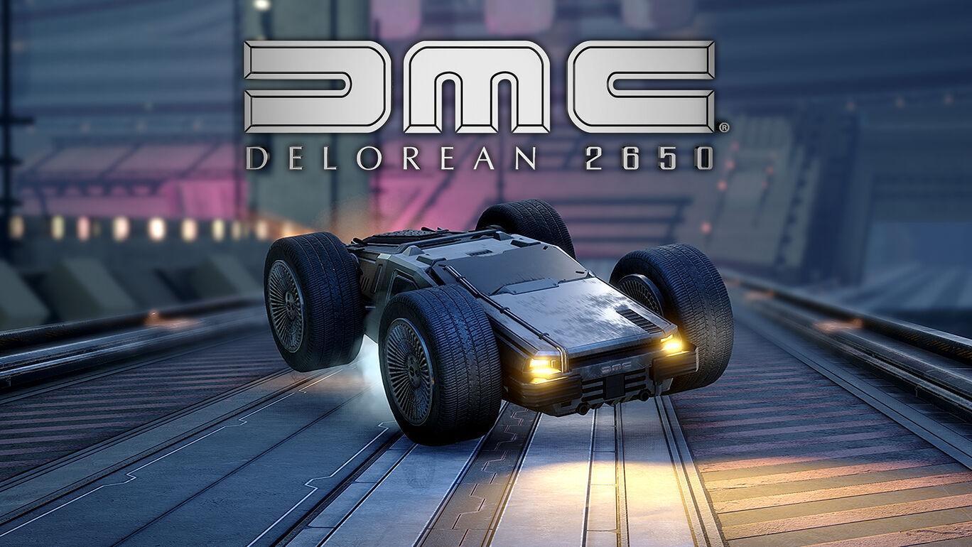 追加コンテンツ「DeLorean 2650」