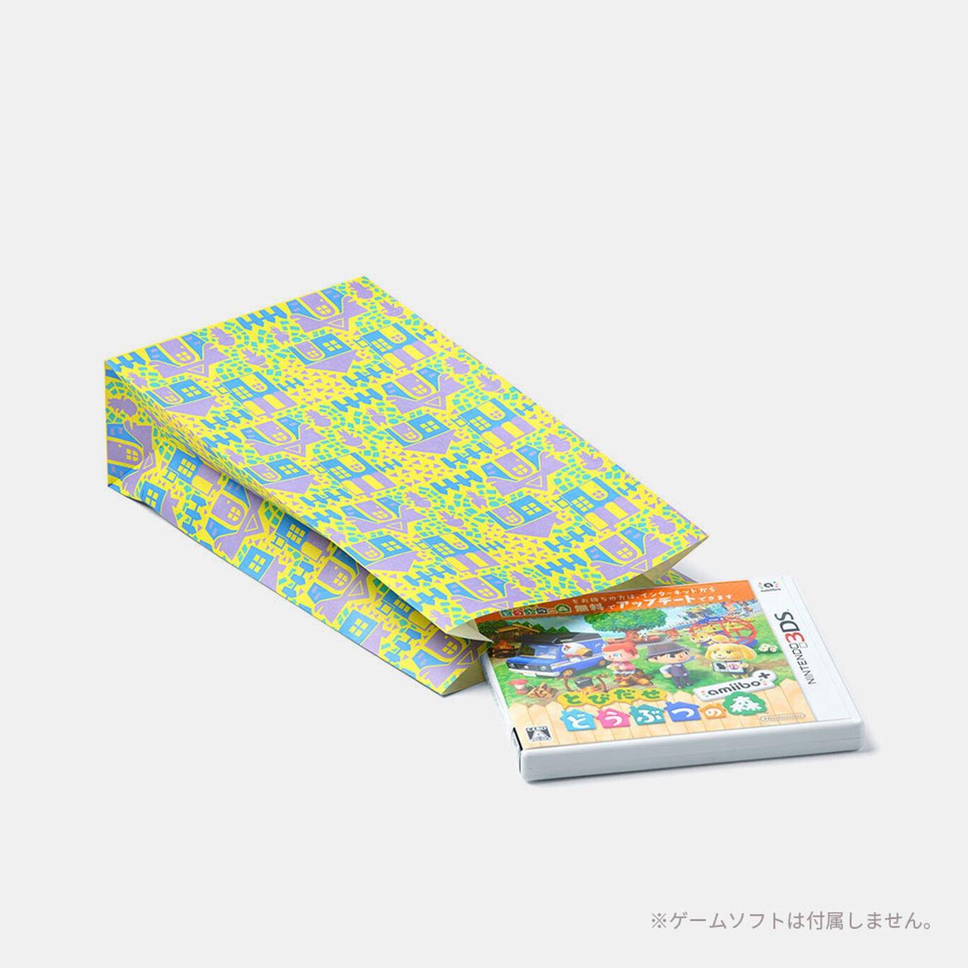 どうぶつの森 ギフト用ペーパーバッグ(4種)
