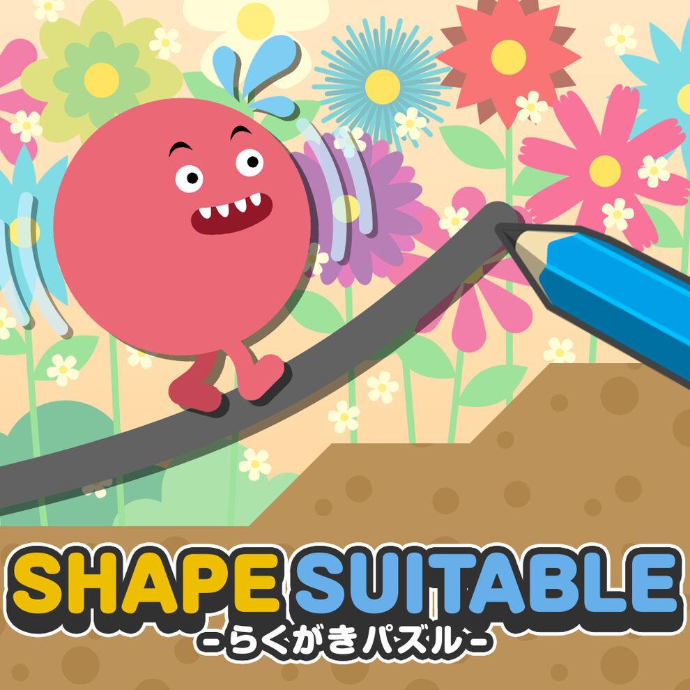 SHAPE SUITABLE:らくがきパズル