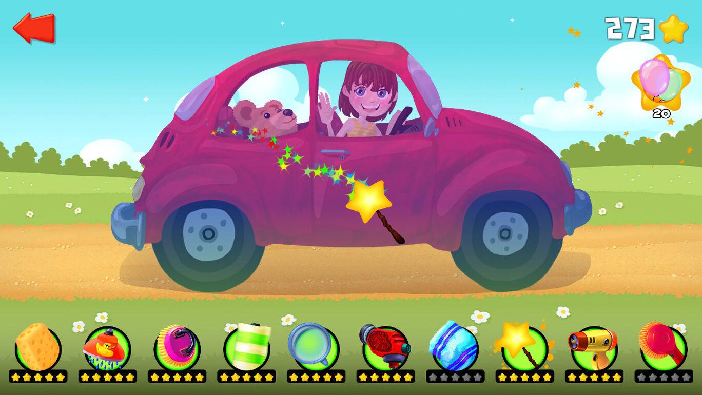 Car Wash - 洗車 幼児と子供のための車とトラックのガレージゲーム