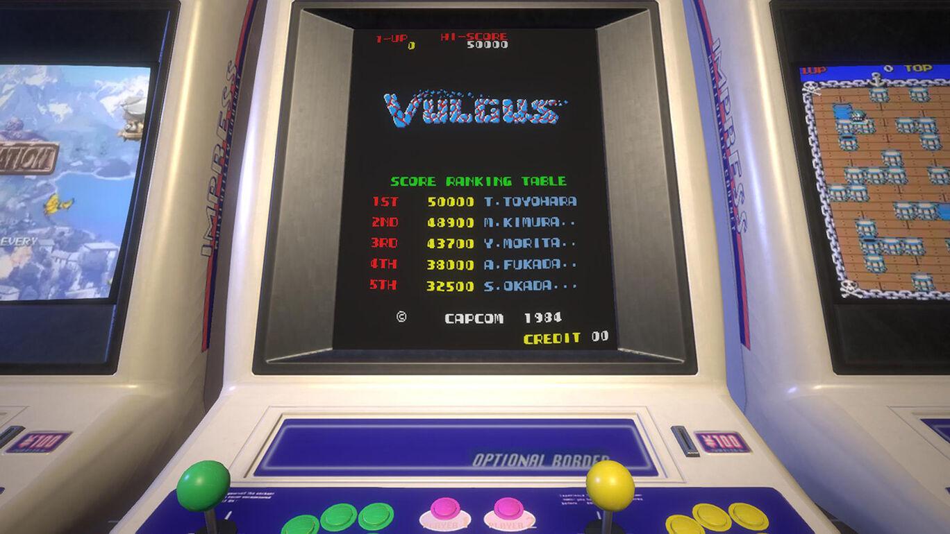 Capcom Arcade Stadium:バルガス