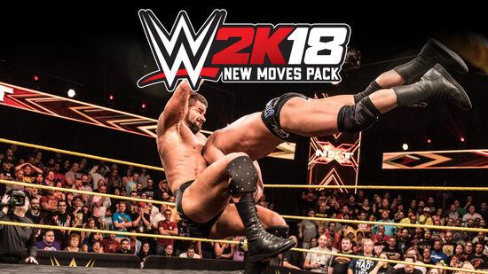 WWE 2K18 New Movesパック