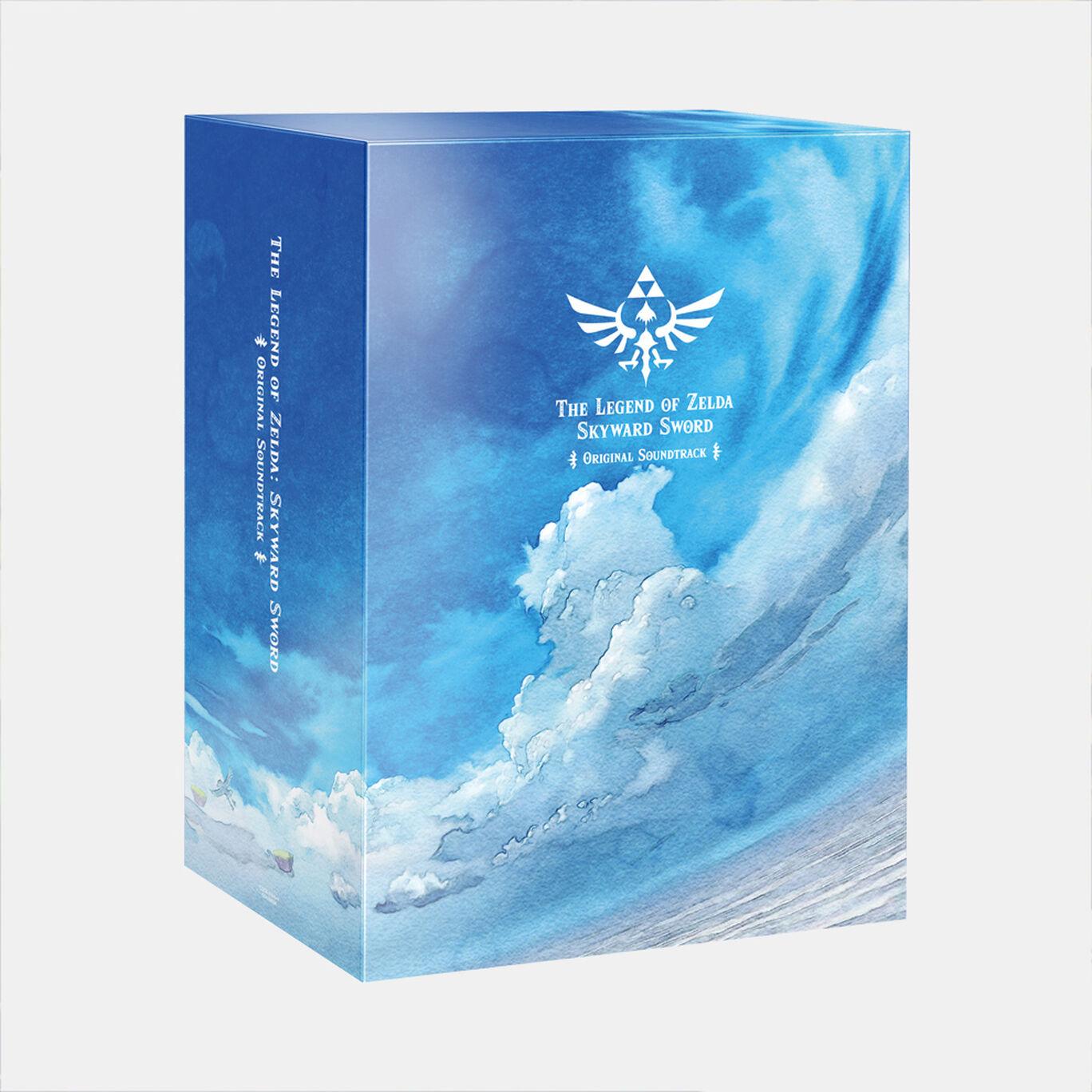 【新商品】「ゼルダの伝説 スカイウォードソード」オリジナルサウンドトラック【初回数量限定生産盤】