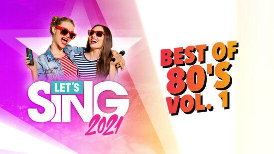 レッツシング2021 - Best of 80's Vol. 1 Song Pack