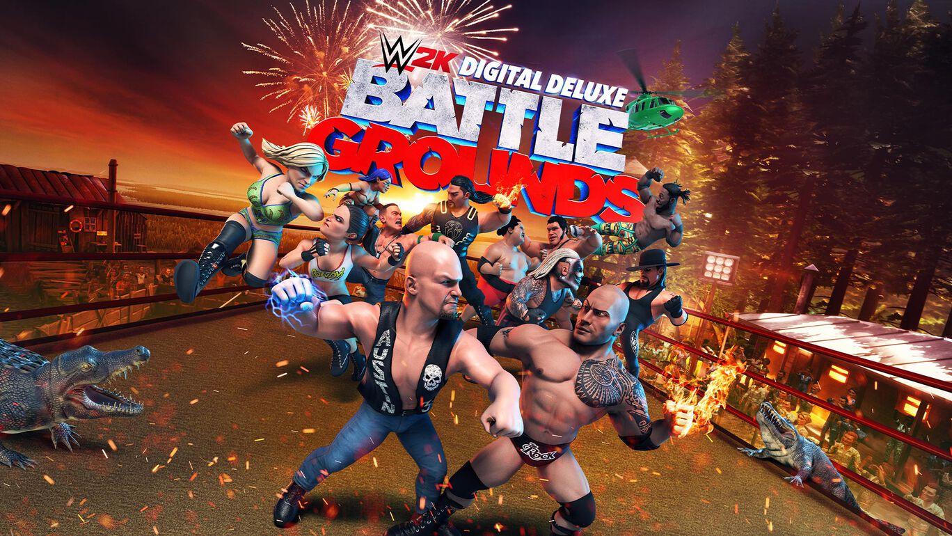 『WWE 2K バトルグラウンド』 デジタル デラックス エディション