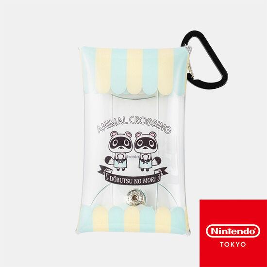 クリアマルチケース S どうぶつの森【Nintendo TOKYO取り扱い商品】