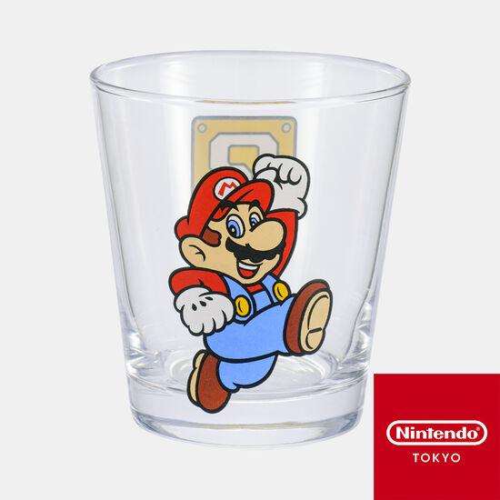グラス スーパーマリオ【Nintendo TOKYO取り扱い商品】