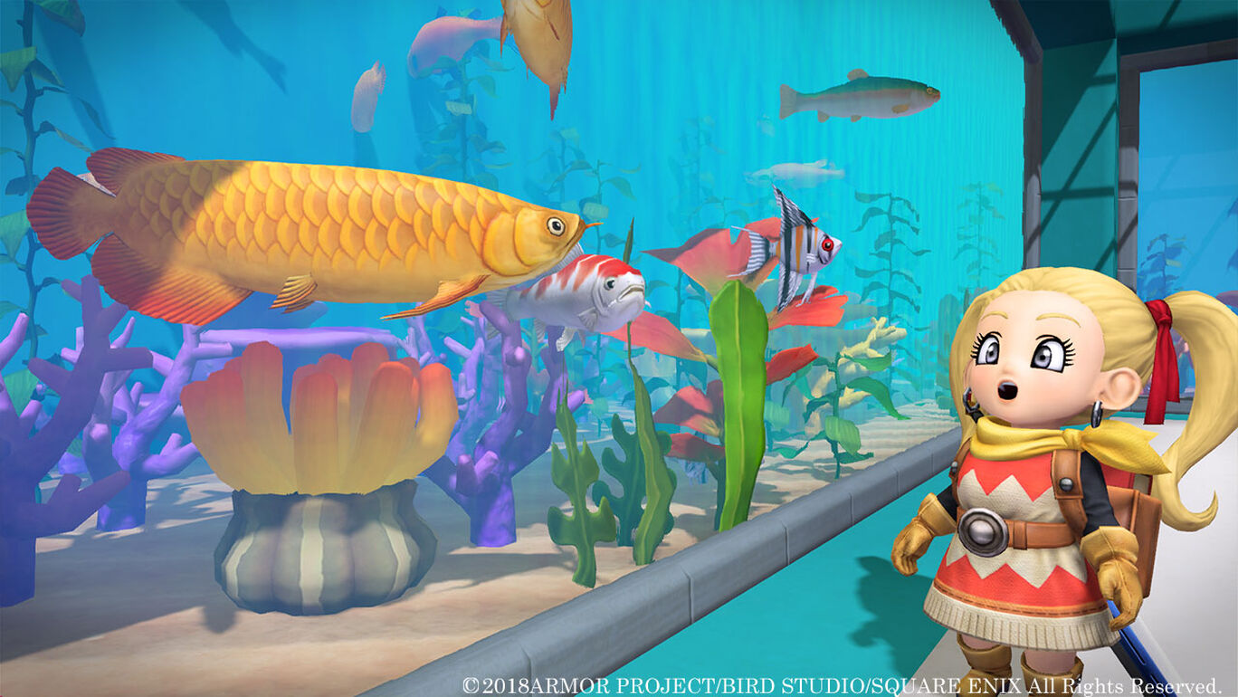 ドラゴンクエストビルダーズ2 追加DLC第2弾「水族館パック」