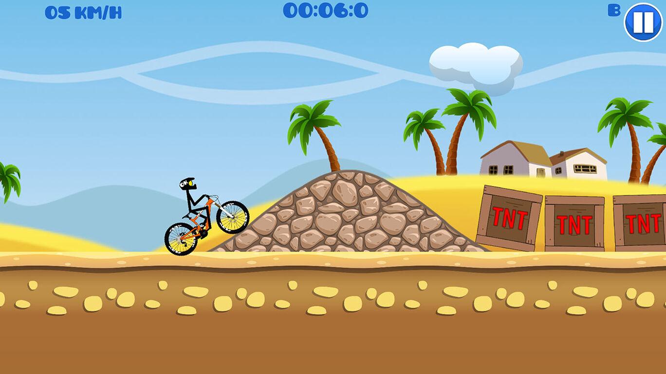 Mountain Bike Hill Climb Race: Real Physics Fun 2D Arcade Speed Drive Dirt Racing Games
