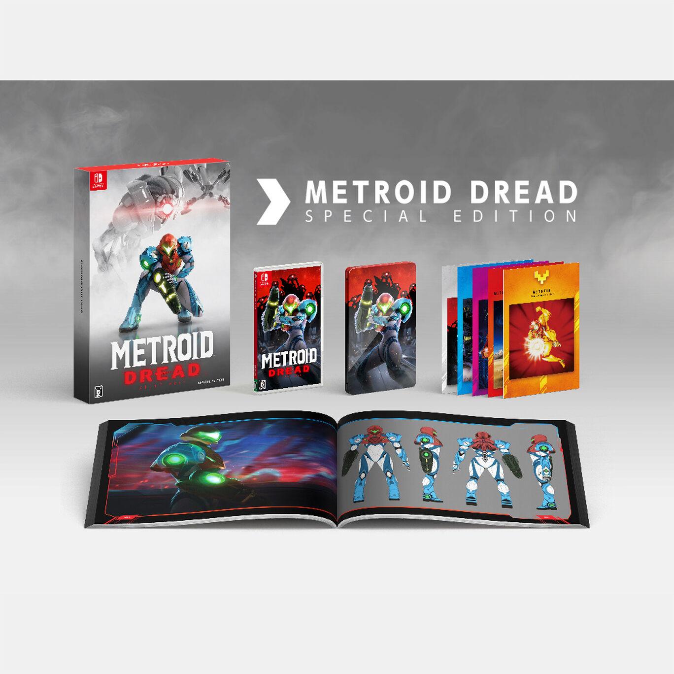 メトロイド ドレッド スペシャルエディション(ゲームカードなし)※特典のみ