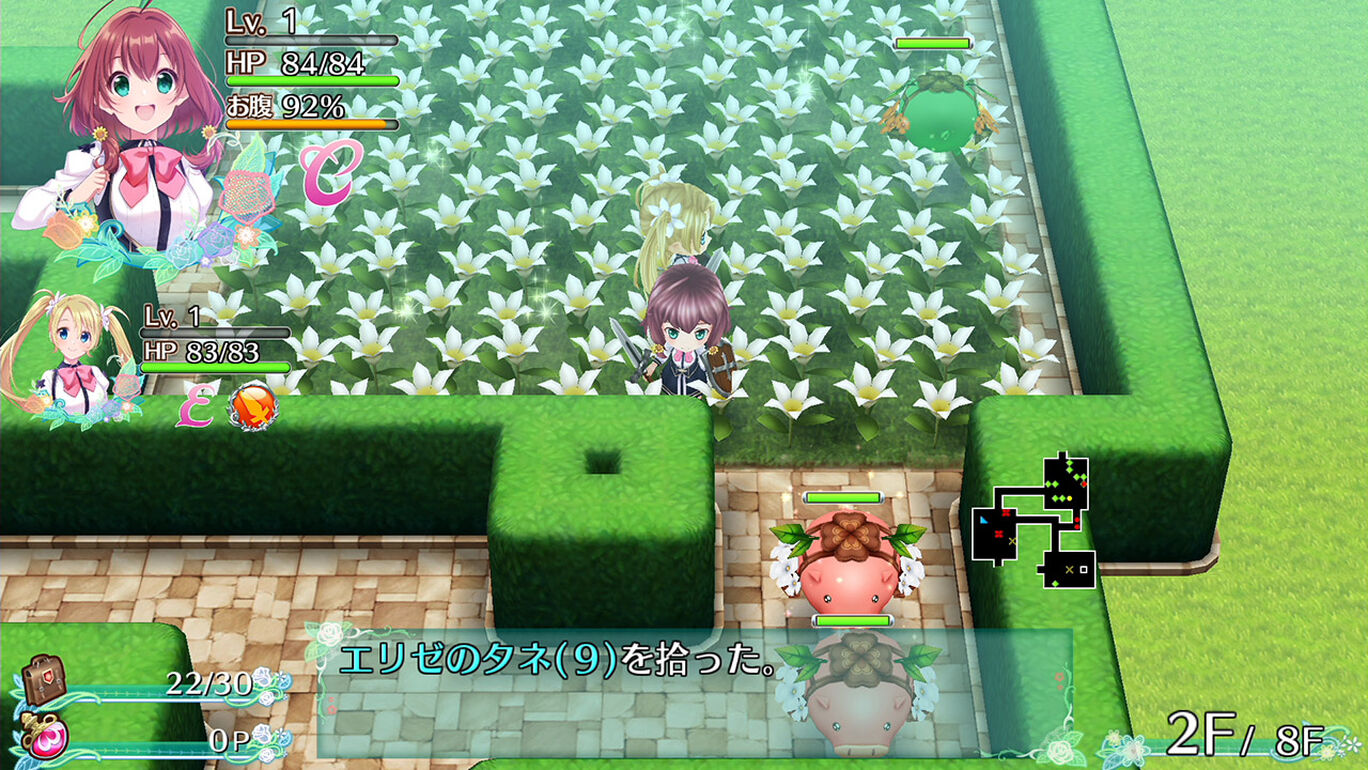 追加ダンジョン「幻の花園」