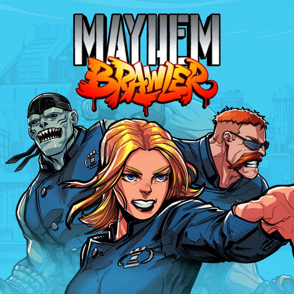 Mayhem Brawler メイヘムブロウラー