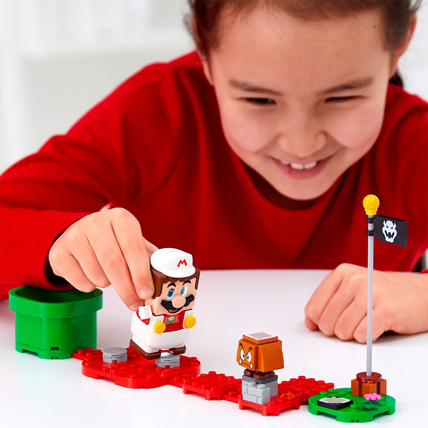 レゴ(R)スーパーマリオ ファイアマリオ パワーアップ パック
