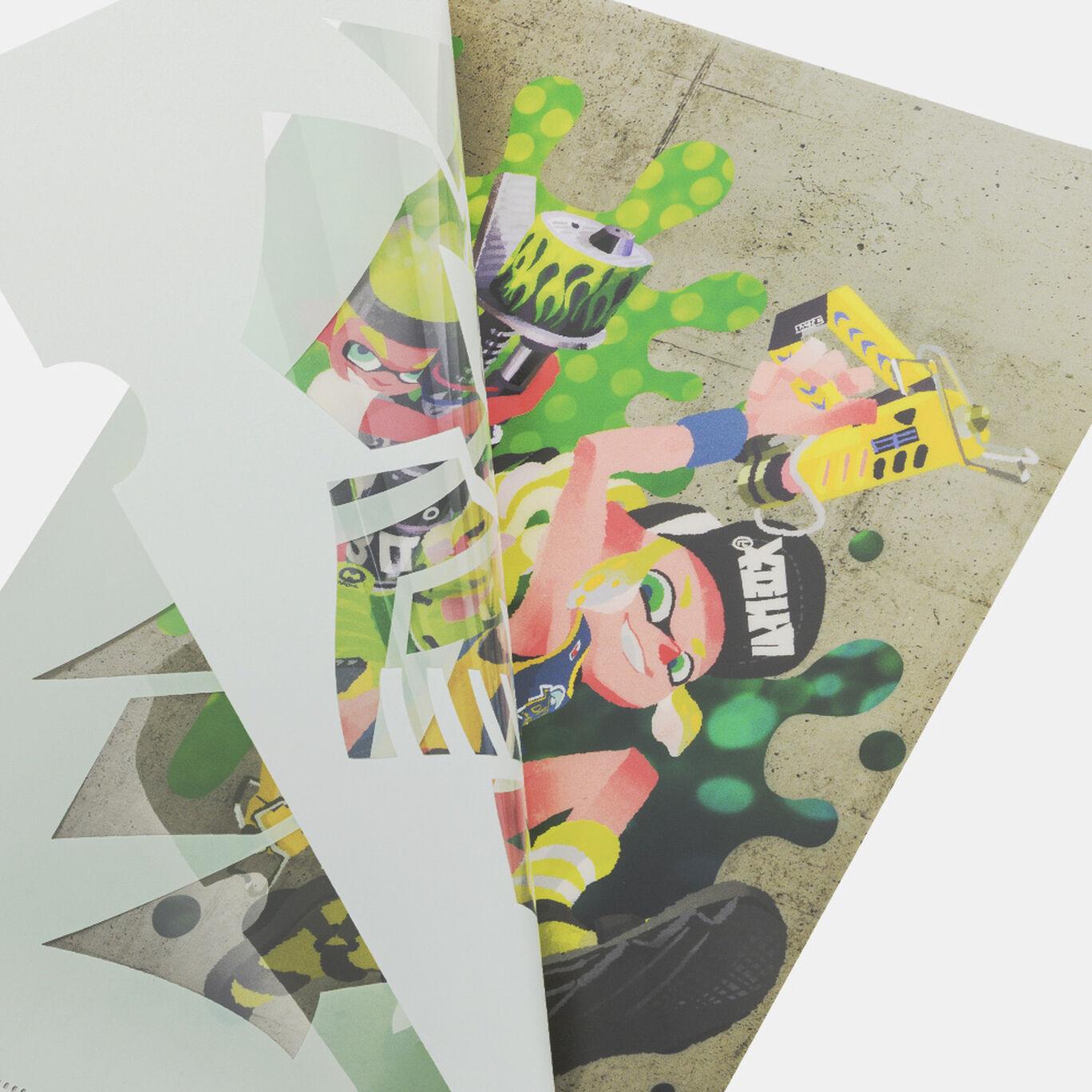 クリアファイルセット SQUID or OCTO Splatoon【Nintendo TOKYO取り扱い商品】
