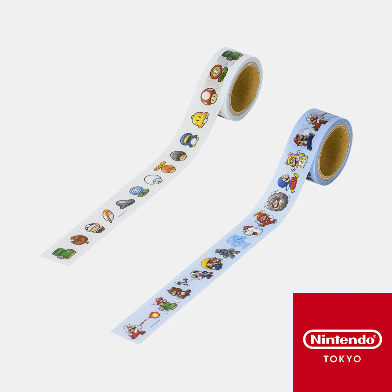 マスキングテープ スーパーマリオ パワーアップ【Nintendo TOKYO取り扱い商品】