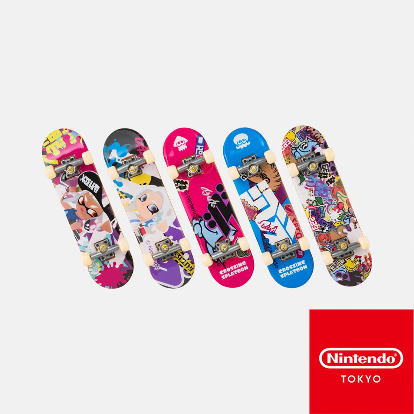 【単品】フィンガーボードコレクション CROSSING SPLATOON【Nintendo TOKYO取り扱い商品】