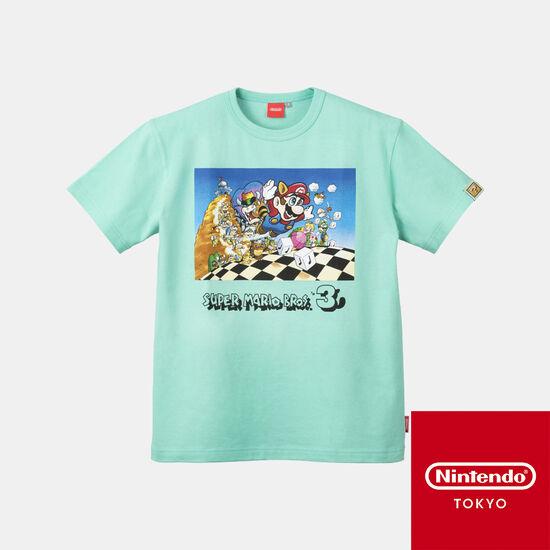 Tシャツ スーパーマリオブラザーズ3 【Nintendo TOKYO取り扱い商品】
