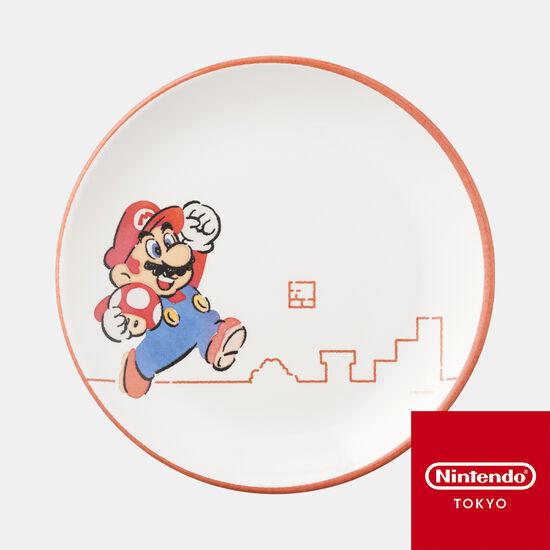 メラミンプレート スーパーマリオファミリーライフ マリオ【Nintendo TOKYO取り扱い商品】